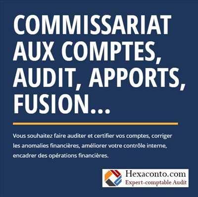 Exemple expert comptable n°301 zone Paris par Hexaconto